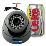 Telecamera Videosorveglianza Dome sony 3,6 mm 24 Led infrarossi