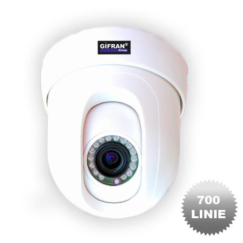 Telecamera videosorveglianza Speed Dome Pan Tilt 700TVL motorizzata 360°