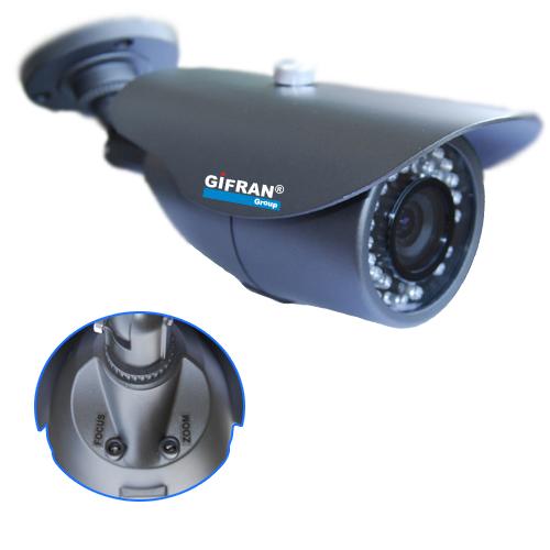 Telecamera Videosorveglianza a circuito chiuso CCD Sharp varifocale da 4-9mm 36 led